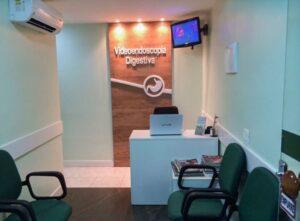 Sala de espera clínica