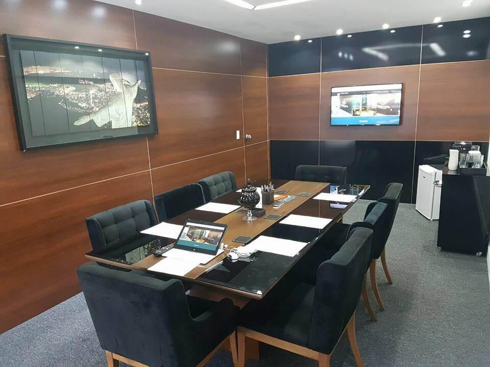 Sala de reunião Coelho e Costa