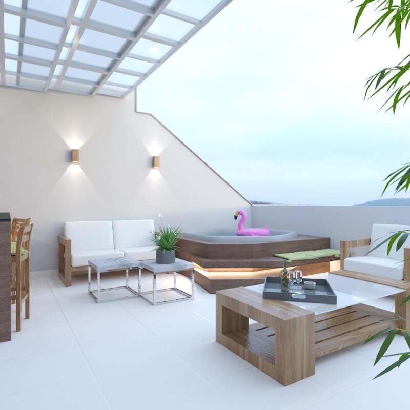 área de lazer casa santana
