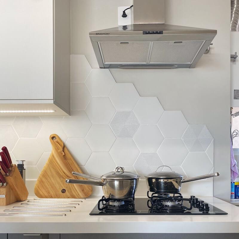cozinha decorada apartamento mooca