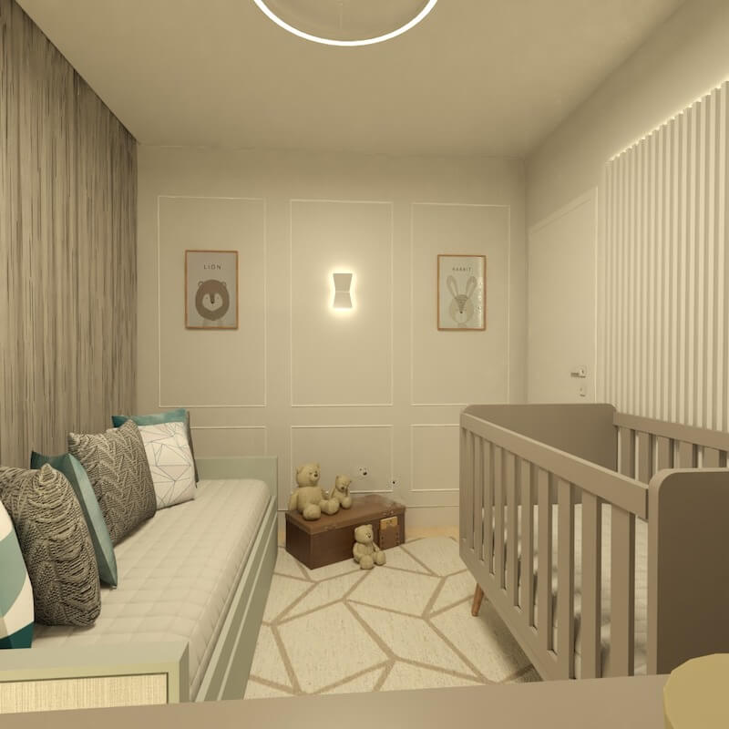 quarto de bebe decorado vila mariana