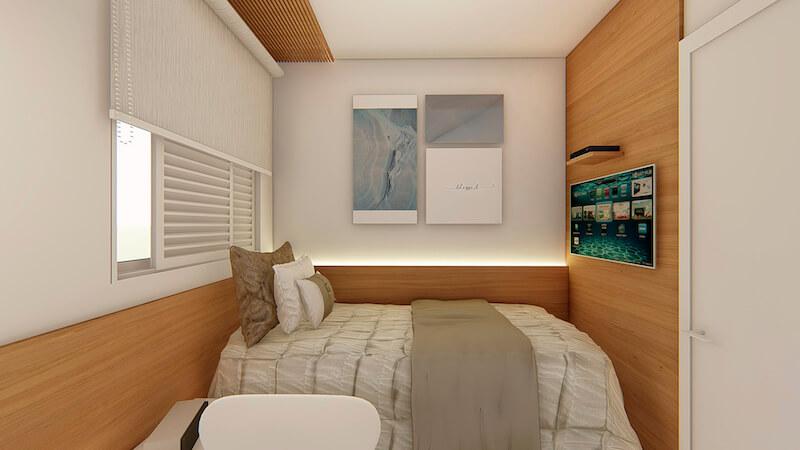 quarto de hospedes apartamento carrão