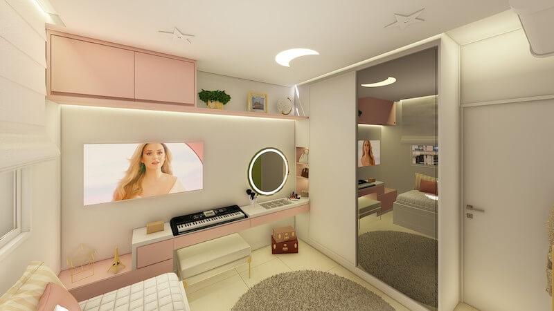 quarto decorado feminino adolescente