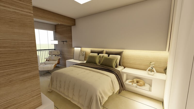 suite casal apartamento carrão