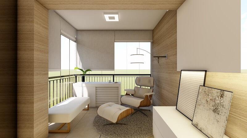 varanda integrada suite apartamento carrão
